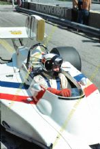 Hesketh 308 Ian Scheckter Austrian GP F1 1974 pit photo